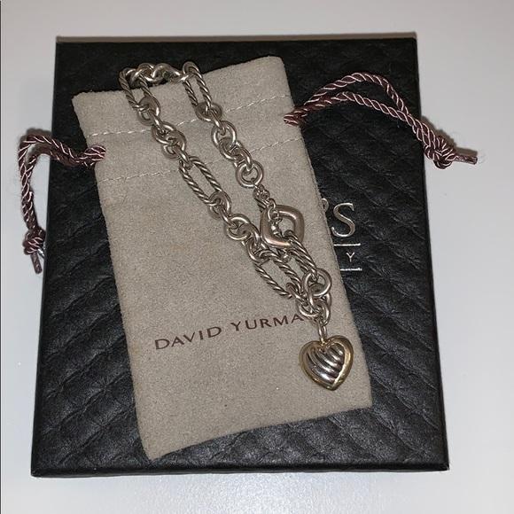 b8c8b8ed71ecf David Yurman Jewelry - David Yurman Heart Charm Bracelet